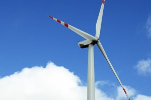 Wind turbine renewable energy generation