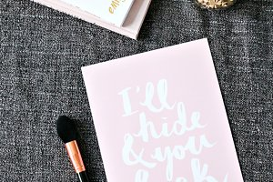 Lifestyle Blogger Flatlay