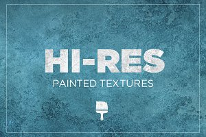 High-Res Painted Textures