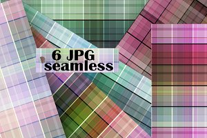 6 Digital Papers-plaid shirts
