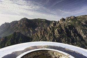 GR20 Trail Mountain Panorama Corsica