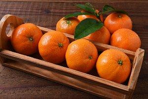 Crate Mandarin Oranges