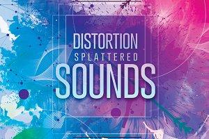 Distortion Splattered Sounds