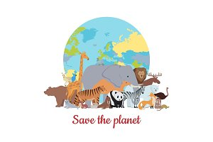 Save the Planet Baner