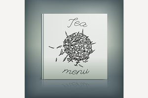 Tea Menu Cover Idea