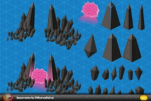Monolith Isometric Elements