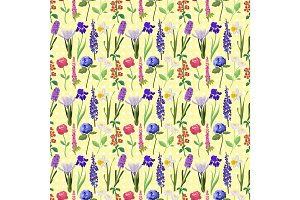 Flower pattern vector illustration