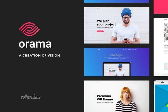 Orama A Premium WordPress Theme