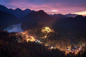 View of Hohenschwangau Castle TIF