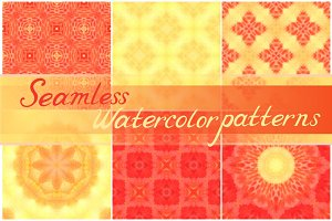 Set of 14 seamless patterns