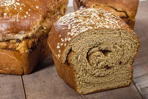 Artisan whole wheat bread
