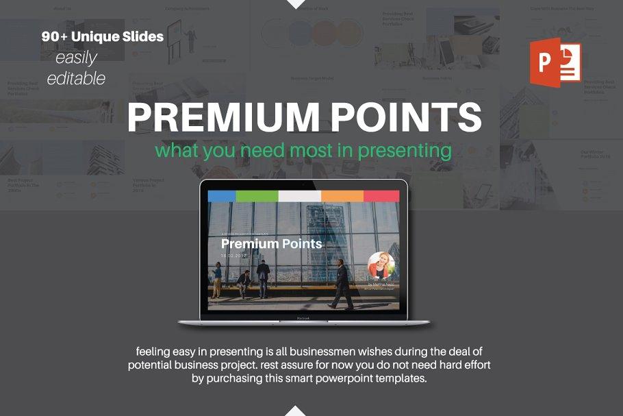 Startup Pitch Deck ~ PowerPoint Templates ~ Creative Market