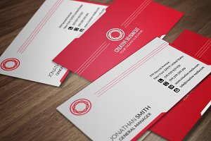Minimal Business Card CM035