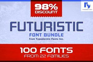 Futuristic Font Bundle
