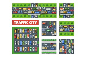 Traffic Transportation set
