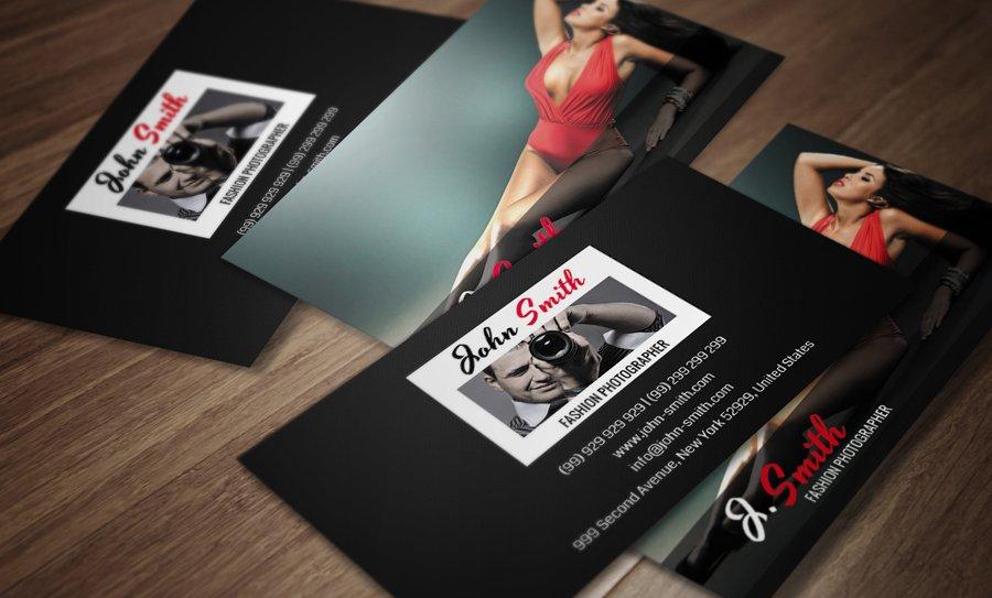 Fashion photographer card cm046 business card templates creative fashion photographer card cm046 business card templates creative market colourmoves