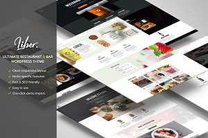 Liber Restaurant/Bar WordPress Theme