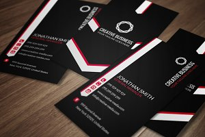 Minimal Business Card CM049