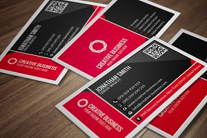 Corporate Business Card CM051