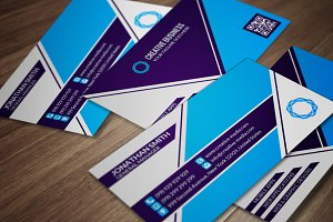 Corporate Business Card CM055