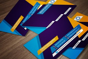 Corporate Business Card CM057