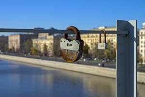 Two love locks