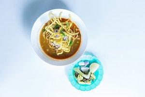 Khao Soi bowl