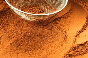 chocolate powder
