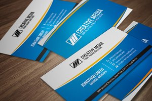 Corporate Business Card CM064