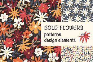 Bold flowers