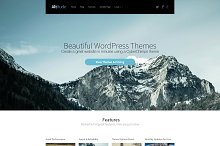 Altitude WordPress Theme by CyberChimps Inc. in Landing Page