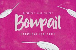 Bowpail Font