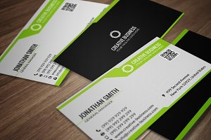Clean Business Card CM070