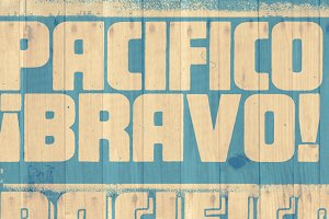 Pacifico Alternate font