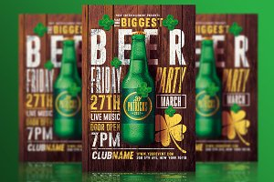 St Patricks Day Party - Psd Flyer