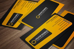 Clean Business Card CM073