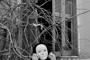 Masked Figure Plants