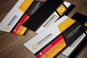 Corporate Business Card CM076