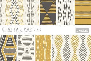 Digital Papers - Tribal - 103