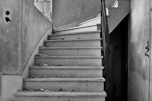 Old Dirty Staircase