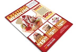 Restaurant Multipurpose Flyer or Ad