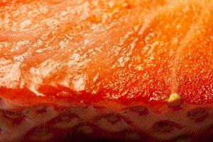 Increased pulp of strawberries