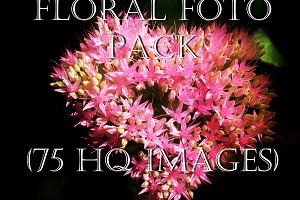 Floral Pack - 75 hq photos