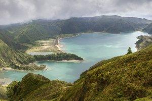 Lagoa do Fogo, Salo Miguel, Azores