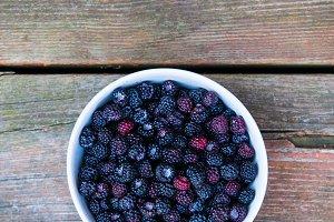 Wild Blackberry Bowl