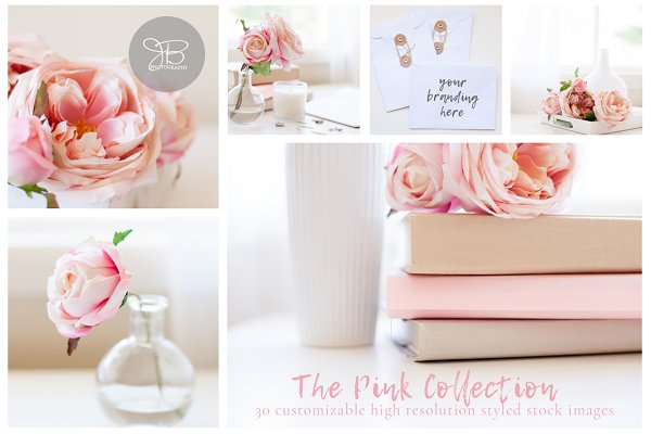 Pink Collection | Stock Photo Bundl…