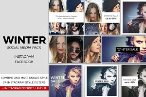 Winter Social Media Pack