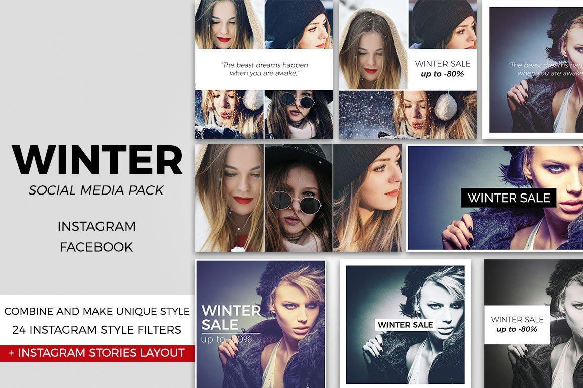 Winter Social Media Pack