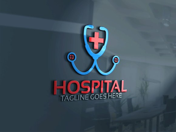 hospital logo template logo templates creative market