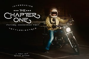 ChapterOne - 4 Font+Extras